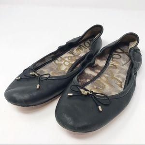 Sam Edelman | Black Felicia Ballet Flats   U2-74-2